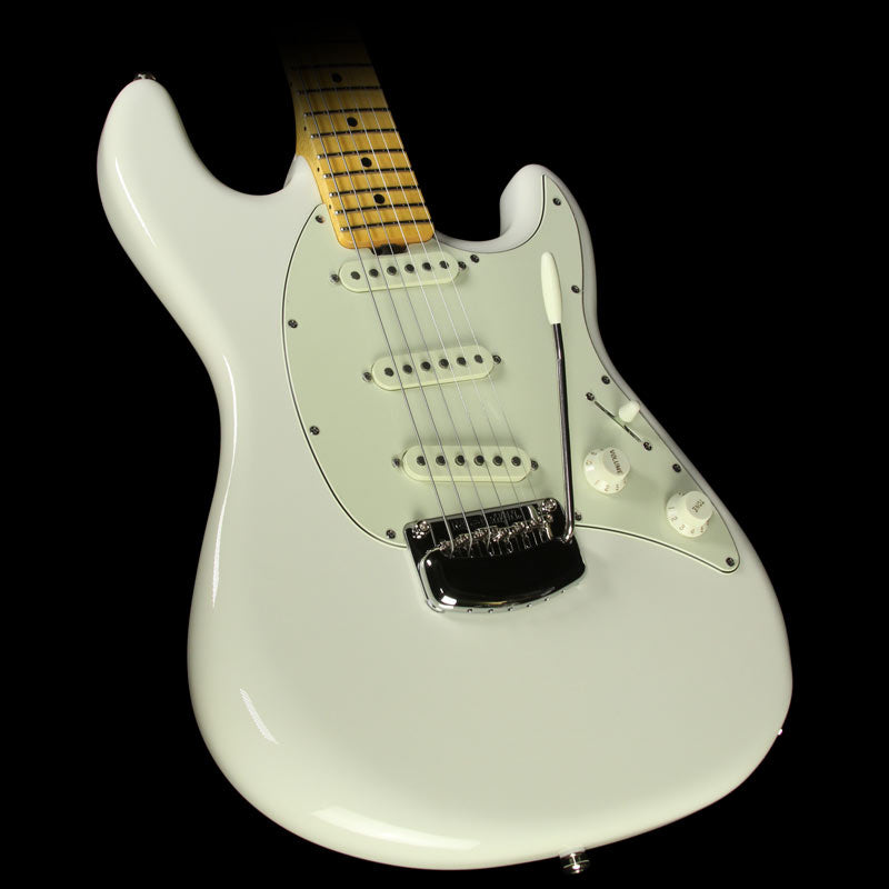 Ernie Ball Music Man Modern Classic Cutlass Electric Guitar Ivory White