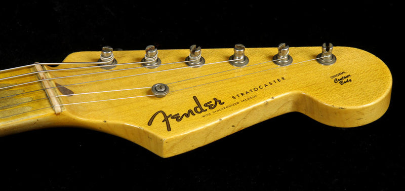 Used 2015 Fender Custom Shop Limited Edition '56 Stratocaster Heavy Relic Electric Guitar Desert Tan CZ525117