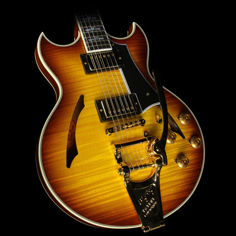 Gibson Custom Shop Johnny A. Signature with Bigsby Electric Guitar Sunset Glow