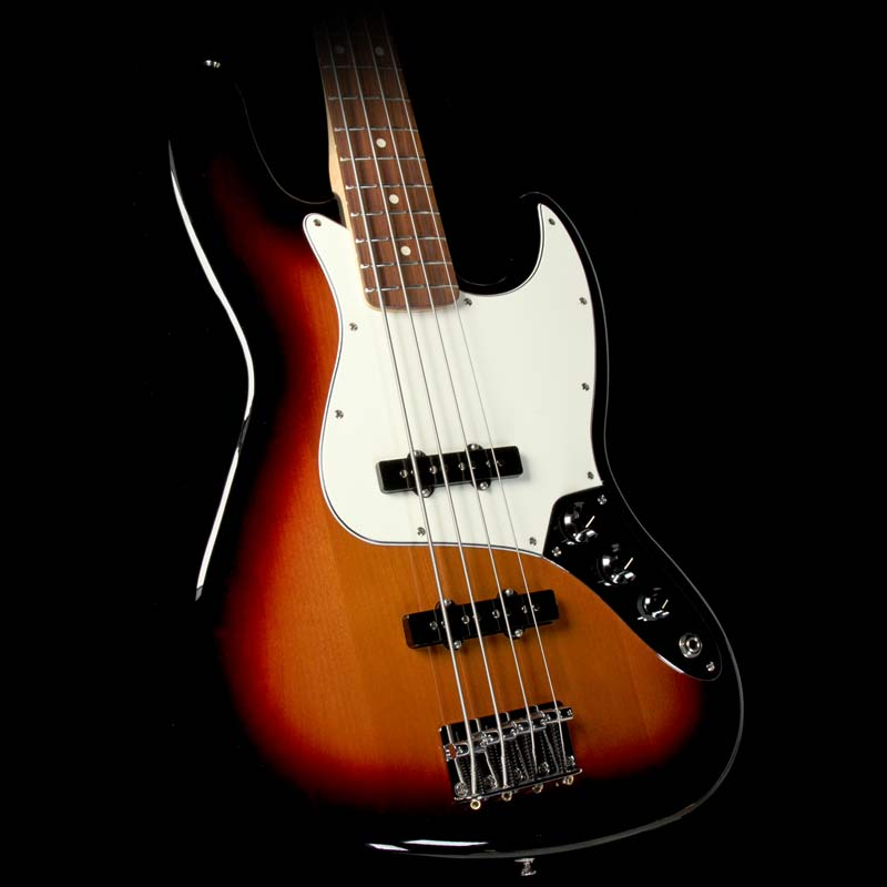 Fender Standard Jazz Bass Electric Bass Guitar Brown Sunburst