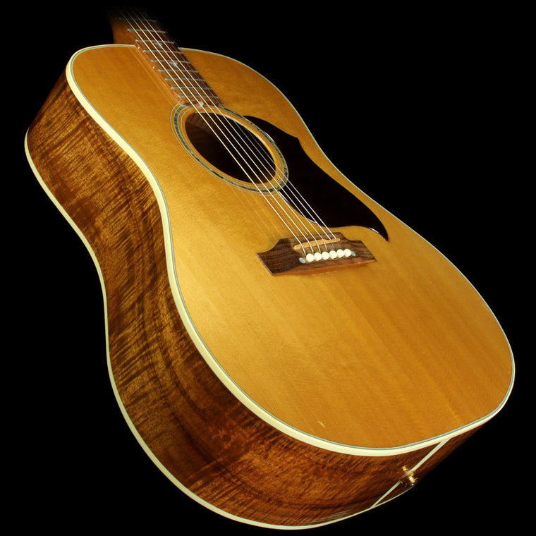 used 2001 gibson custom shop songbird deluxe acoustic guitar natural 2331039 the music zoo. Black Bedroom Furniture Sets. Home Design Ideas