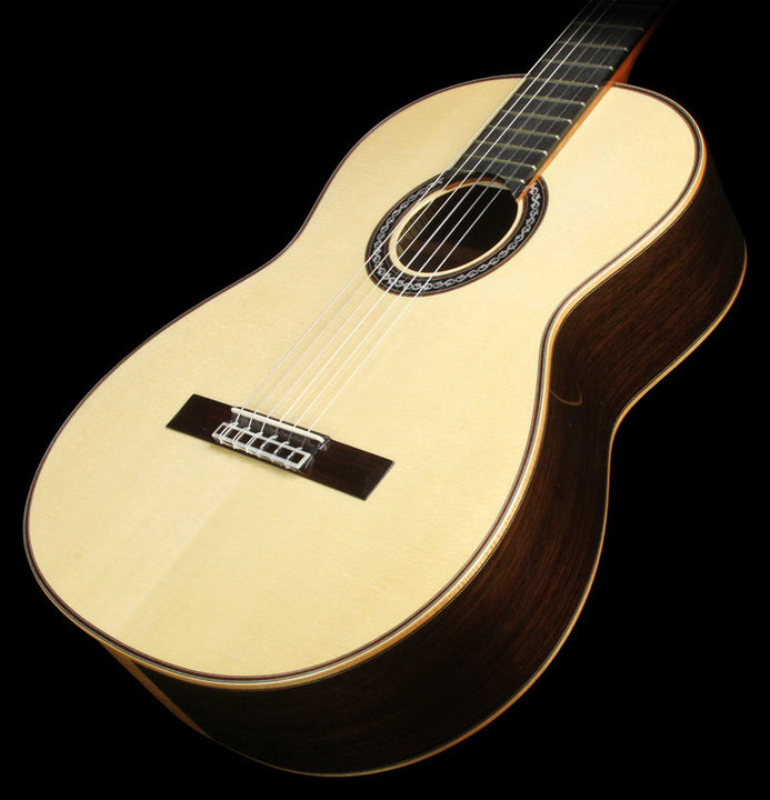 Used Cordoba C12 SP/IN Spruce Top Nylon-String Acoustic Guitar Natural GUCLCOR-06541