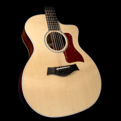 Taylor 254ce-DLX 12-String Grand Auditorium Acoustic-Electric Guitar Natural