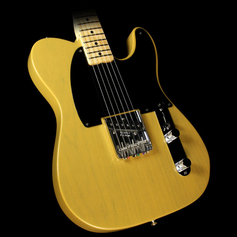 Fender Custom Shop '50s Roasted Ash Top-Loader Esquire NOS Electric Guitar Butterscotch Blonde