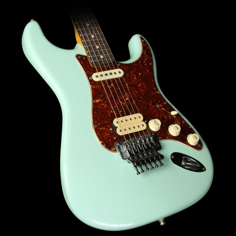 Fender Custom Shop Exclusive ZF Stratocaster Closet Classic Electric Guitar Faded Surf Green