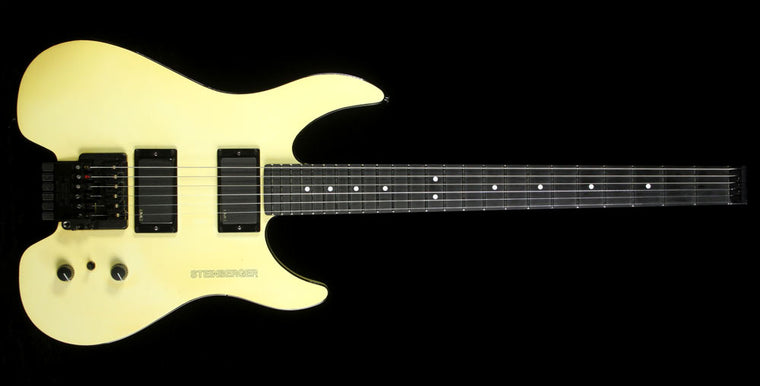 Used 1990 Steinberger GM2T Electric Guitar White