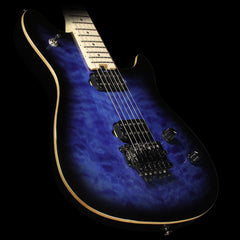 EVH Wolfgang WG Standard Electric Guitar Transparent Blue Burst