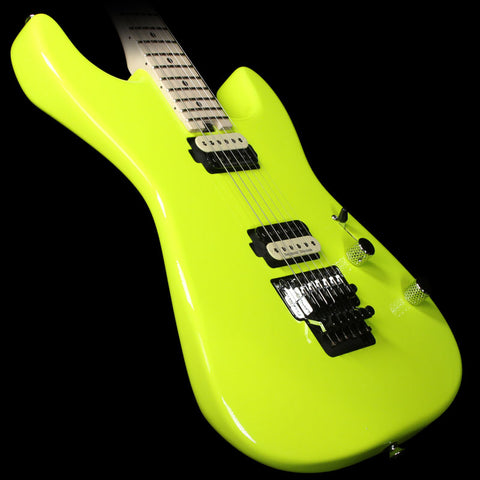 Charvel Pro Mod Series San Dimas 2H FR Electric Guitar Neon Yellow