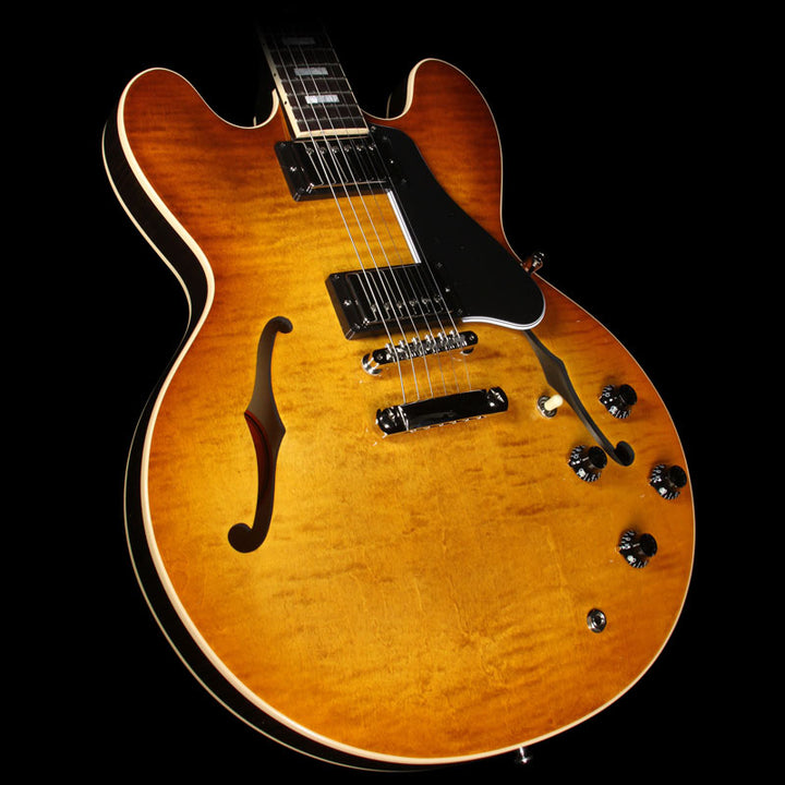 Used Gibson Memphis ES-335 Premiere Figured Electric Guitar Faded Lightburst 10776724