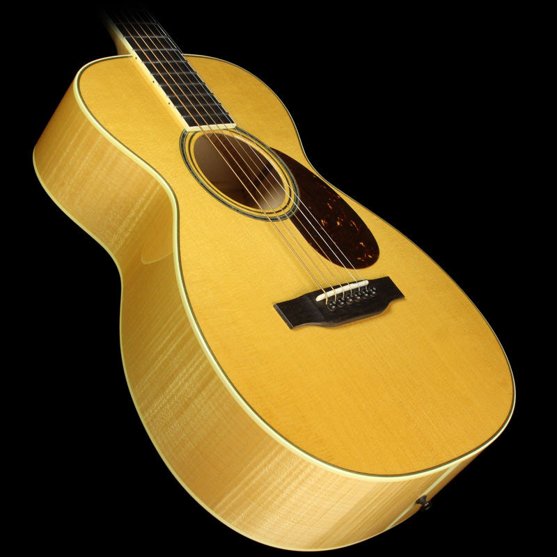 Used 2008 Collings Flame Maple Baby 3 Acoustic Guitar Natural