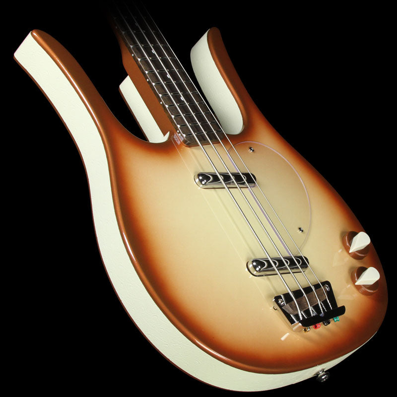 Danelectro Longhorn Electric Bass Copper Burst