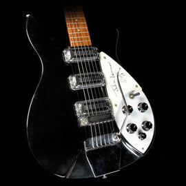 Used 1990 Rickenbacker 355 JL Limited Edition John Lennon Electric Guitar Jetglo