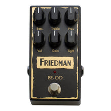Friedman Amplification BE-OD Overdrive Effects Pedal