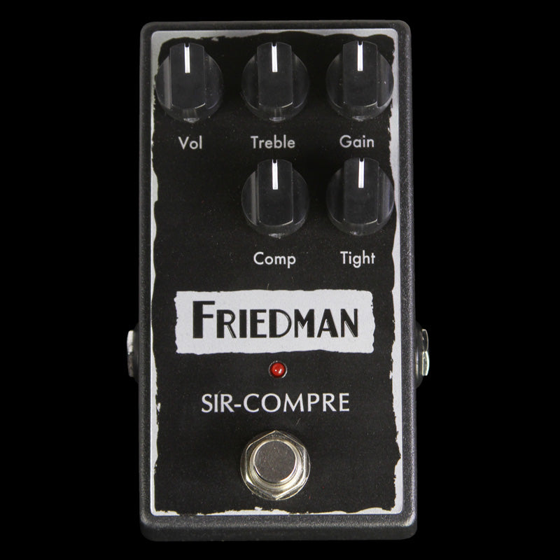 Friedman Amplification Sir-Compre Compressor Effects Pedal