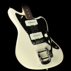 Fender Limited Edition American Special Jazzmaster with Bigsby Electric Guitar Olympic White