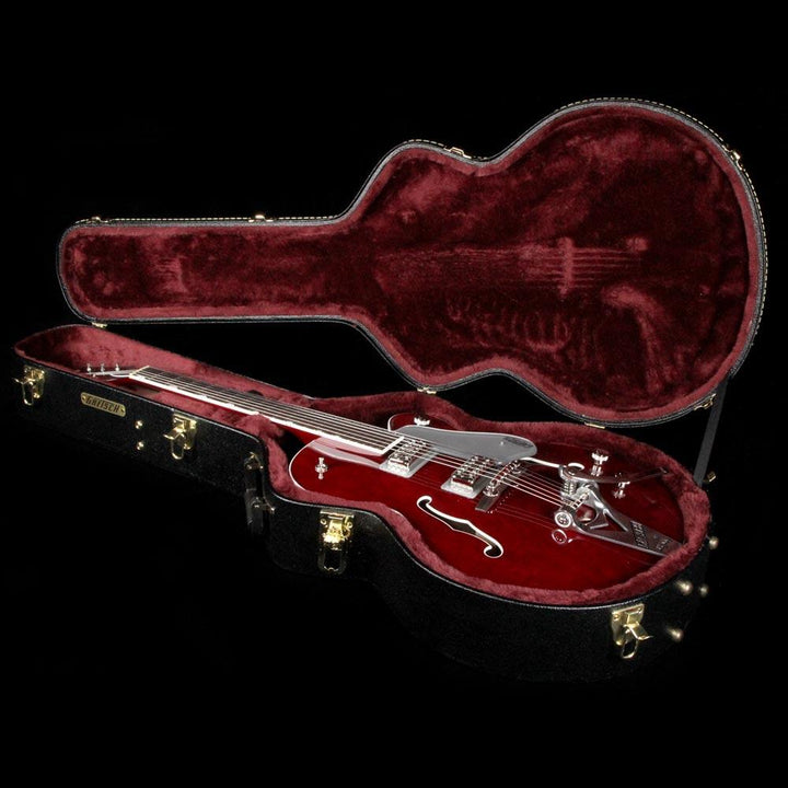 Gretsch G6119T Players Edition Tennessee Rose Dark Cherry Stain JT17102946