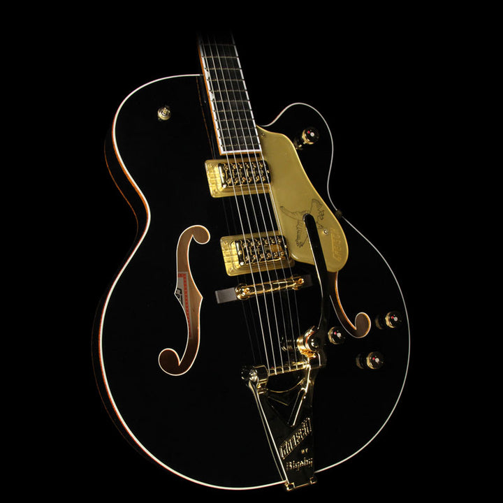 Used Gretsch G6136T Players Edition Black Falcon Electric Guitar JT15123907