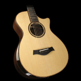 Taylor 912ce 12-Fret Grand Concert Indian Rosewood Acoustic-Electric Guitar Natural