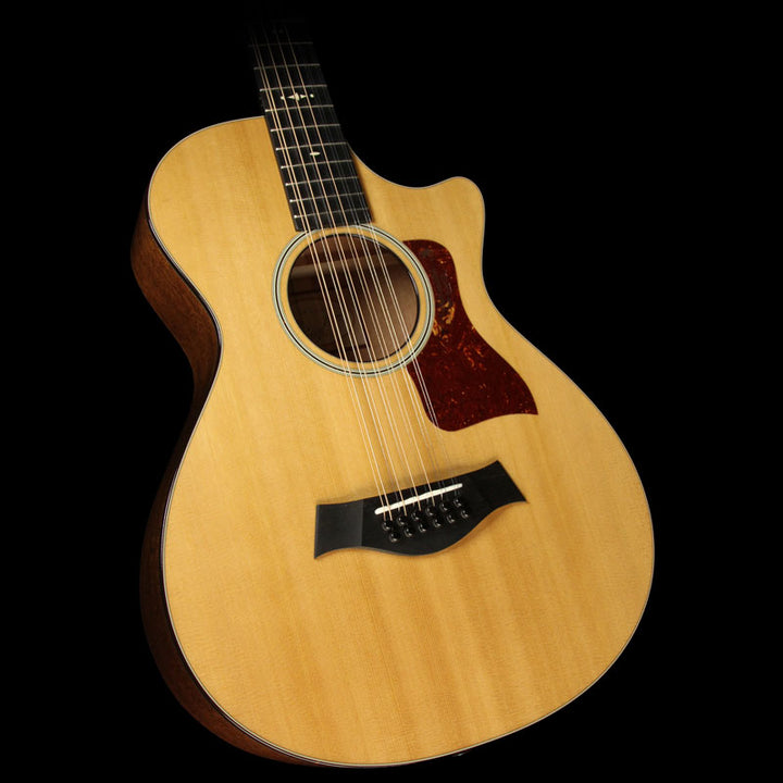 Used Taylor 552ce 12-Fret 12-String Grand Concert Acoustic Guitar Natural 1105236097