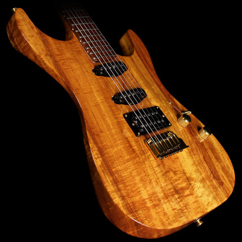 Used 1999 Fender Custom Shop Masterbuilt Jason Davis Koa Showmaster Calendar Electric Guitar
