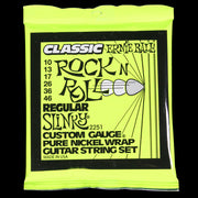 Ernie Ball Regular Slinky Classic Rock and Roll Pure Nickel Wound Electric Strings (10-46)
