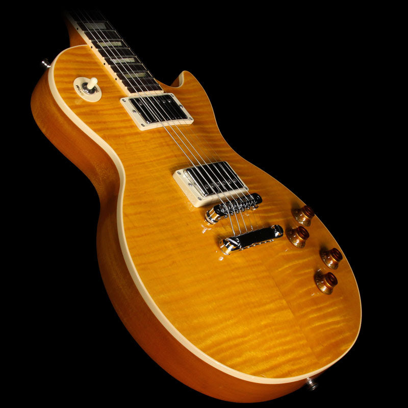 Used 2013 Gibson Les Paul Standard Electric Guitar Amber Burst