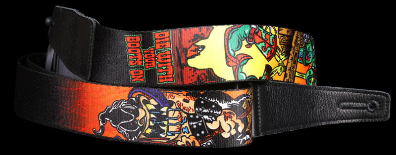Levy's MDL8-020 Guitar Strap Sublimation Print