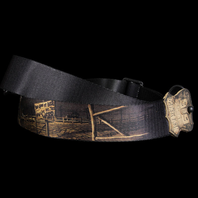 Levy's MPN2-NM Guitar Strap Sublimation Print