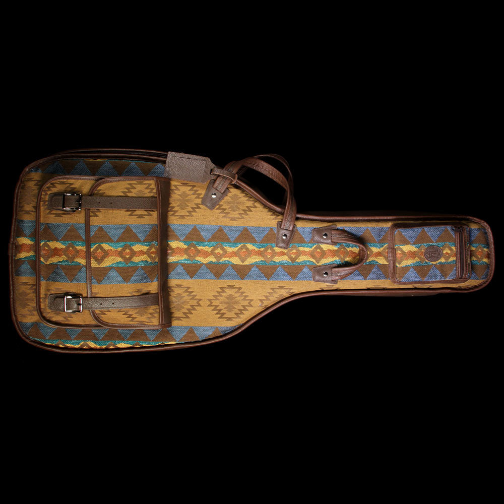 Levy's CMT20-BAN Tapestry and Leather Guitar Gigbag