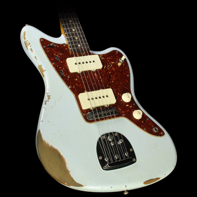 Fender Custom Shop 1960 Jazzmaster Roasted Alder Electric Guitar Faded Sonic Blue