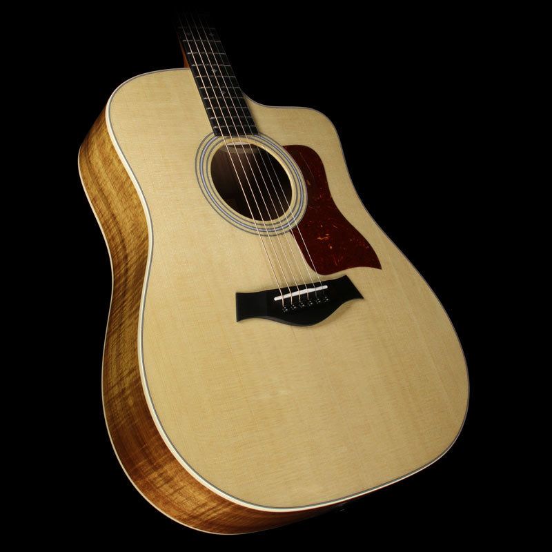Taylor 210ce-K Koa Deluxe Dreadnought Acoustic Electric Guitar Natural
