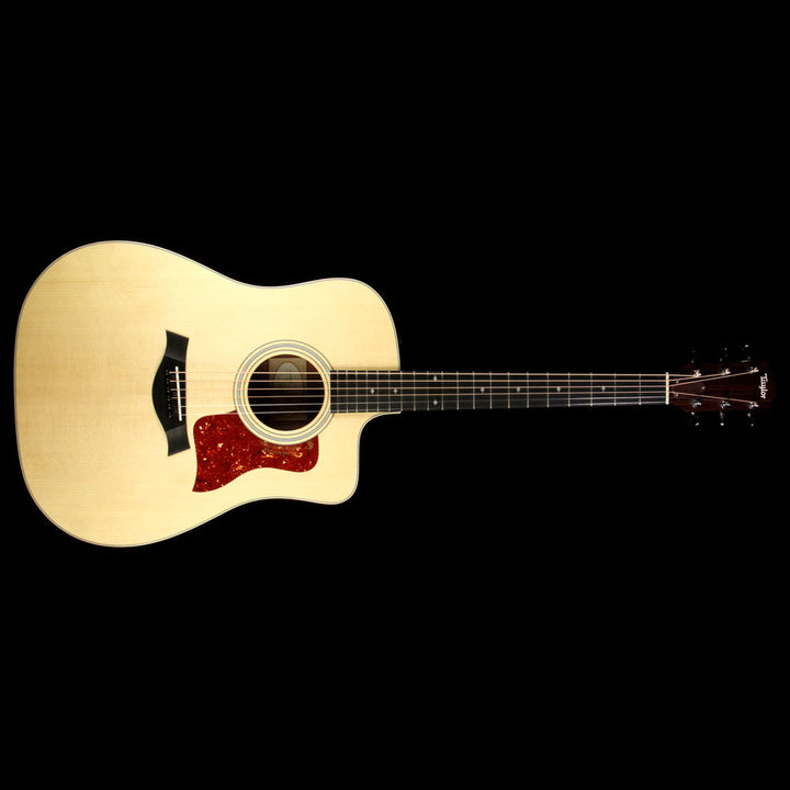 Used Taylor 210ce-K Koa Deluxe Dreadnought Acoustic Electric Guitar Natural 2102066311