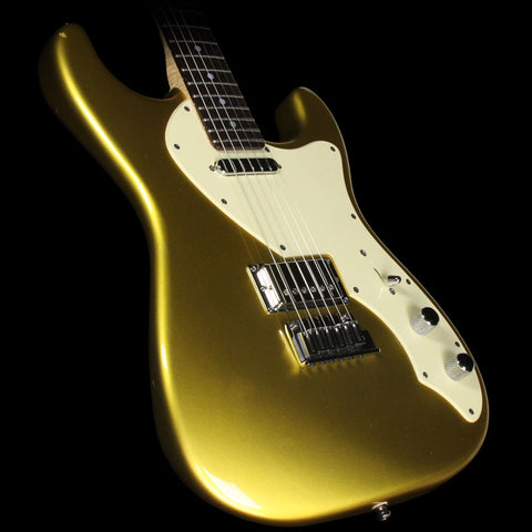 Used 2004 Fender Custom Shop Masterbuilt Yuriy Shishkov Custom Classic Stratocaster Electric Guitar Frost Gold with Matching Headstock