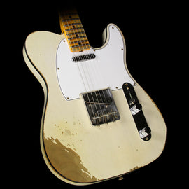 Fender Custom Shop '67 Telecaster Heavy Relic Electric Guitar Aged White Blonde
