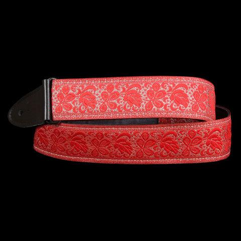 Jodi Head Guitar Strap (Lacey Red)