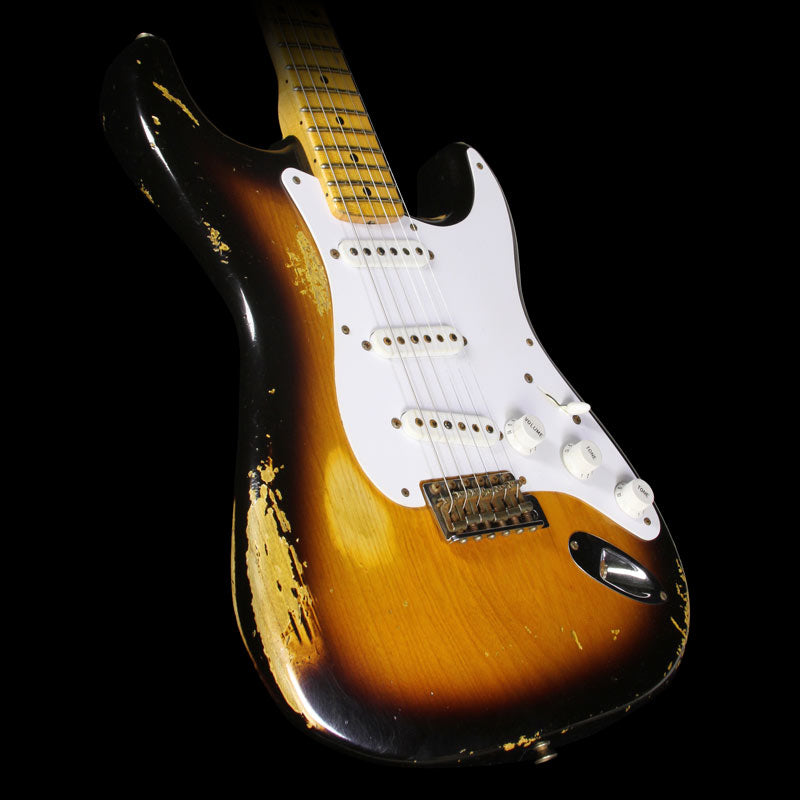 Used 2014 Fender Custom Shop 60th Anniversary '54 Stratocaster Electric Guitar 2-Tone Sunburst
