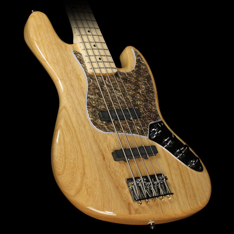 Used 2000 Fender American Deluxe 5-String Jazz Bass with Warmoth Neck Natural