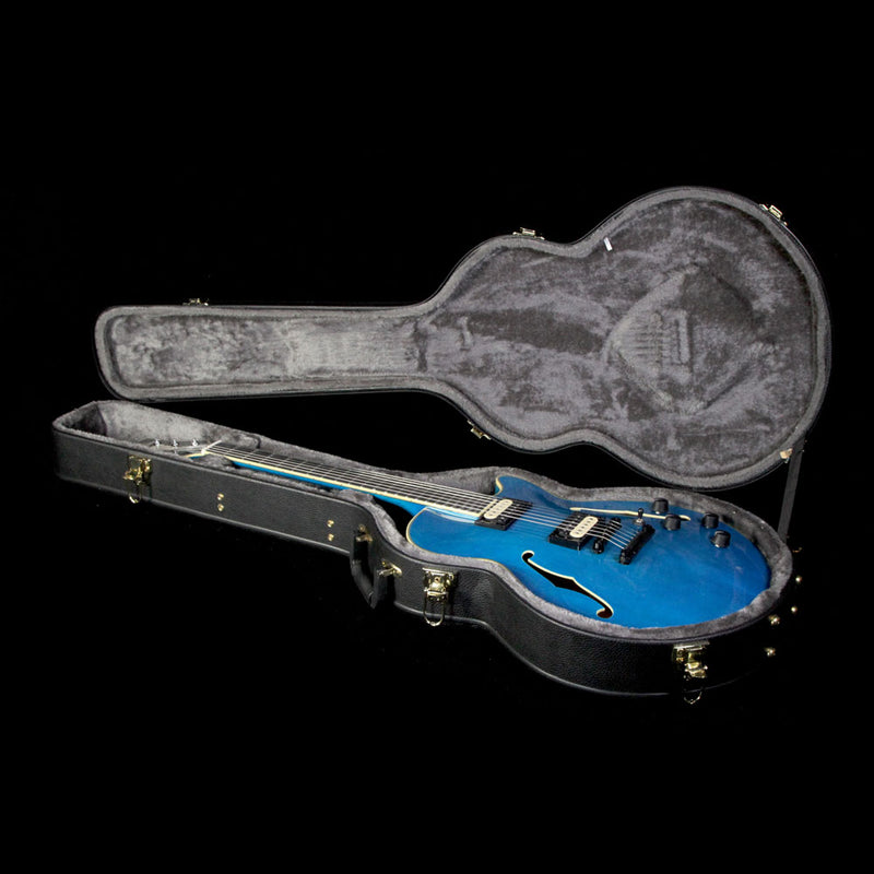 D'Angelico Deluxe Fabrizio Sotti SS Electric Guitar Transparent Blue W1702463