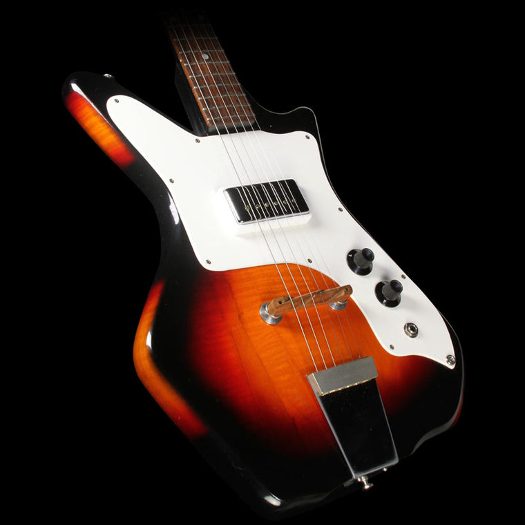 Used 1960's Airline '59 Single Pickup Electric Guitar Sunburst