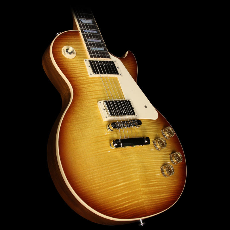 Used 2015 Gibson Les Paul Traditional Electric Guitar Lightburst