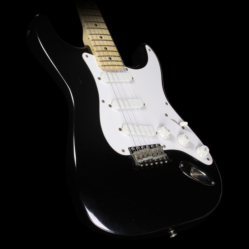 Used 1991 Fender Eric Clapton Stratocaster Electric Guitar Black