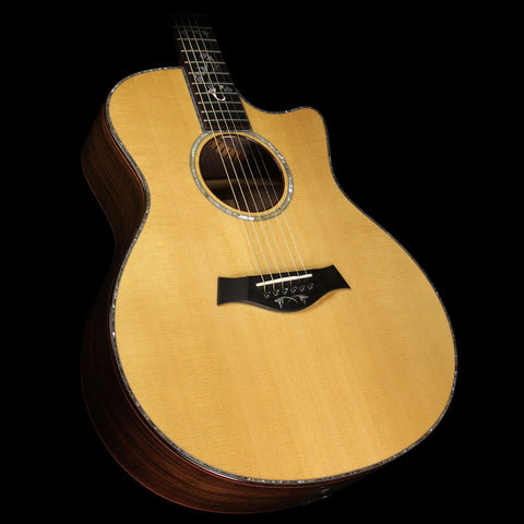 Used 2013 Taylor 916ce Grand Symphony Acoustic-Electric Guitar Natural