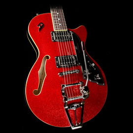 Duesenberg StarPlayer TV Electric Guitar Red Sparkle