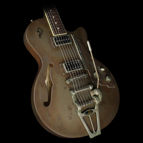Duesenberg Custom Shop StarPlayer TV Electric Guitar Rusty Steel