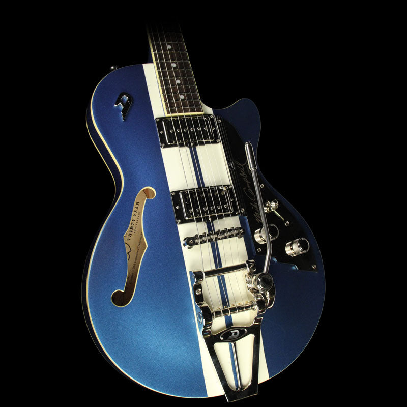 Used Duesenberg Starplayer TV Mike Campbell Signature Electric Guitar Lake Placid Blue