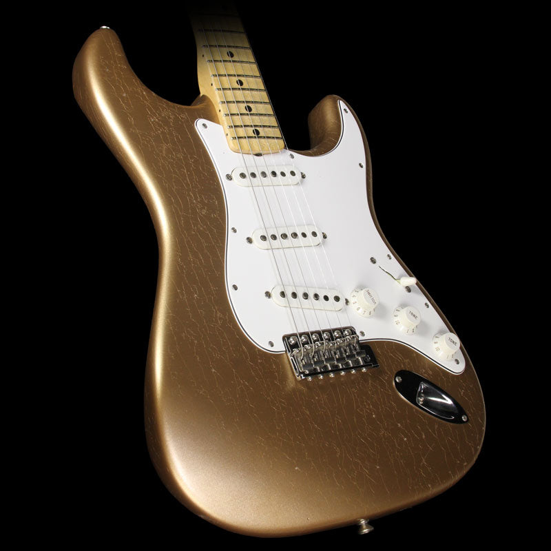 Fender Custom Shop Builder Select Greg Fessler 1969 Stratocaster Electric Guitar Firemist Gold