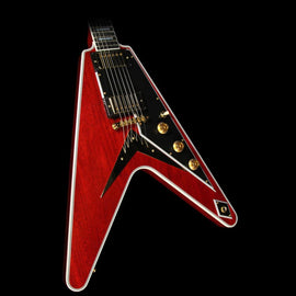 Gibson Custom Shop Flying V Custom Electric Guitar Faded Cherry