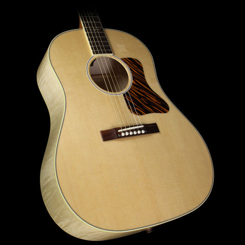 Used Gibson Montana Advanced Jumbo Flame Deluxe Acoustic/Electric Guitar