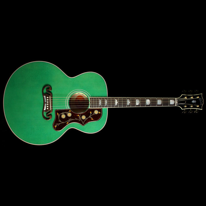 Used Gibson Montana SJ-200 Acoustic Guitar Sea Green 10576086