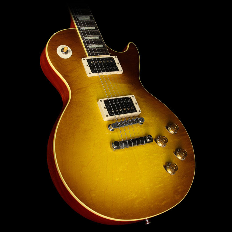 Used 2013 Gibson Custom Shop Duane Allman '59 Les Paul Electric Guitar VOS Double Dirty Lemon